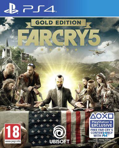 Far Cry 5 Gold Edition: Jeu De Base + Season Pass sur PS4 ou Xbox One
