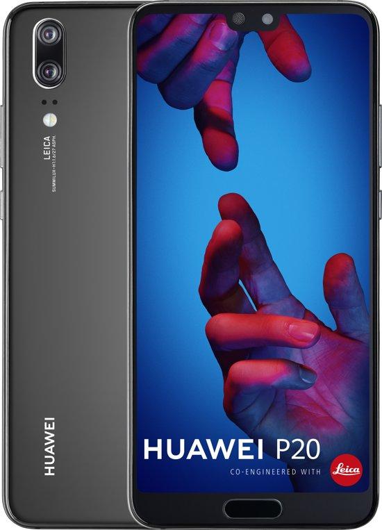 "Smartphone 5.8"" Huawei P20 - full HD+, Kirin 970, 4 Go de RAM, 128 Go, noir"