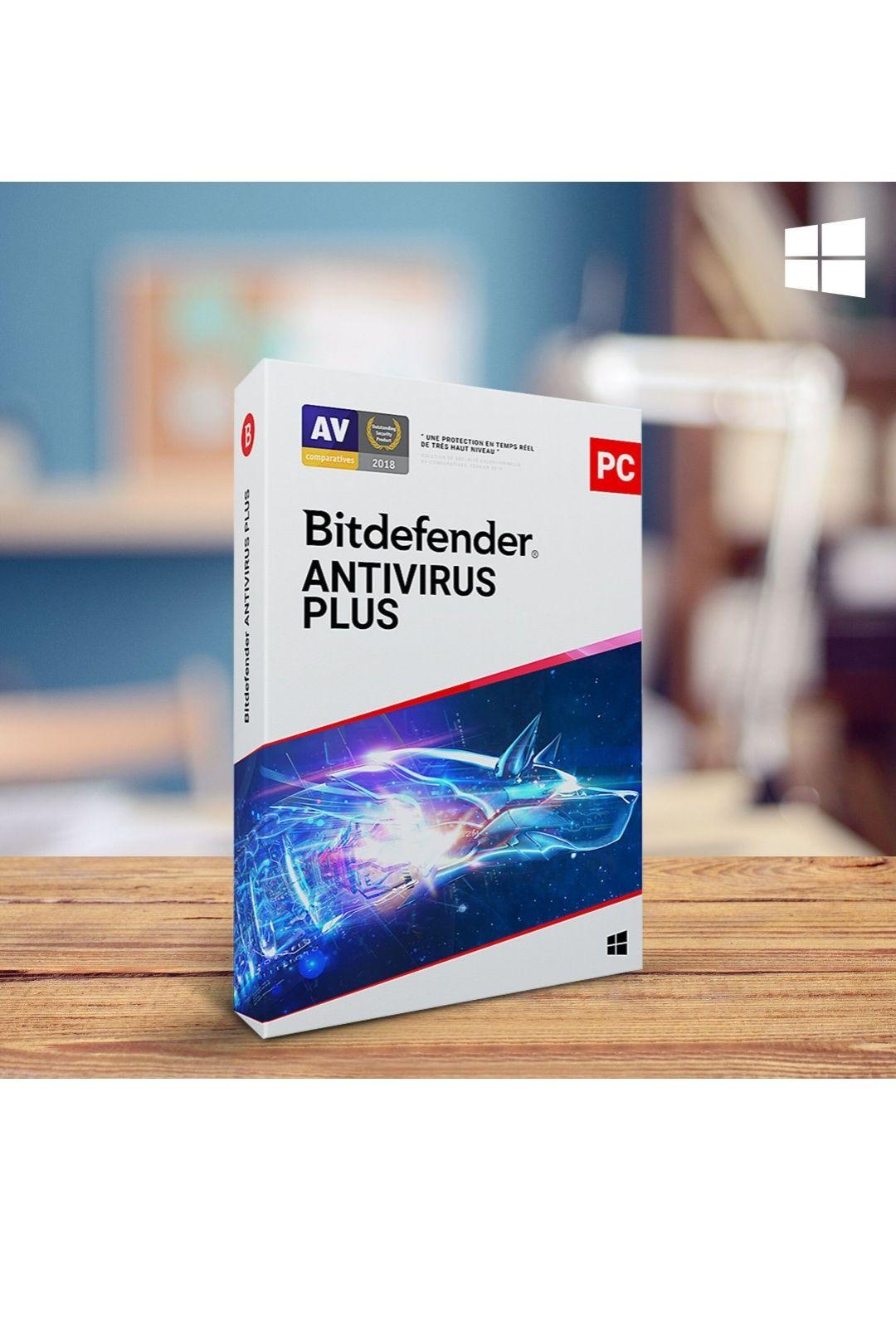 License pour Bitdefender Antivirus Plus - 1 PC, 1 An