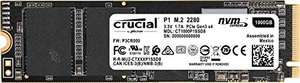SSD Interne M.2 NVMe Crucial P1 CT1000P1SSD8 (3D NAND) - 1 To