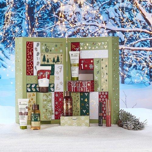 Calendrier de l'Avant Yves Rocher + Crème Soin de Jour 50ml + Cadeaux au choix parmi une sélection