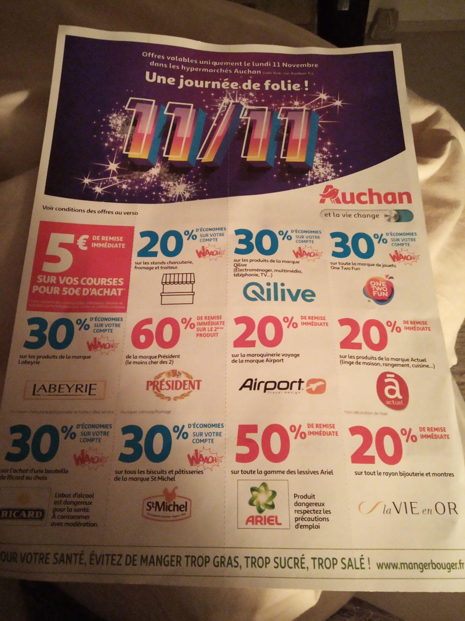 Sélection de Produits en Promo - Ex: Lessive Ariel Ecodoses Gratuite (Parfums au choix - Via BDR & Carte de Fidélite 4)