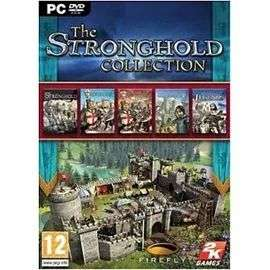 Stronghold - The Collection sur PC 5 dvd + 0,89€ en Super Points