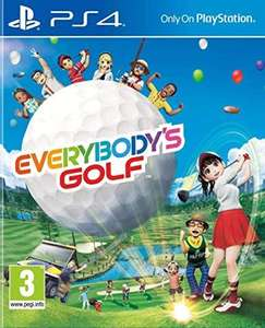Everybody's Golf sur PS4 (+0,48€ en SuperPoints)