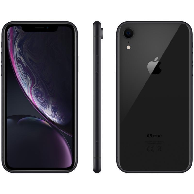"""Smartphone 6.1"""" Apple iPhone XR Noir (Version US) - 64 Go (+ Jusqu'à 98.98€ en SuperPoints)"""