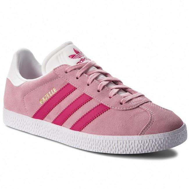 Chaussures Adidas Originals Gazelle J B41517 - Tailles 35.5 au 38 2/3 (chaussures.fr)