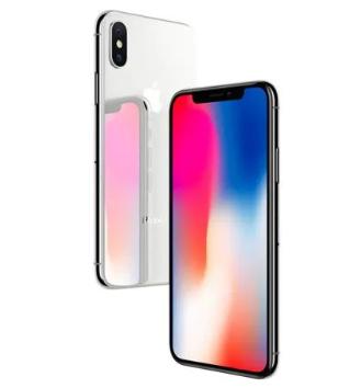 """Smartphone 5.8"""" Apple iPhone X (Argent) - 64 Go, Reconditionné à neuf (+36,70€ en SuperPoints)"""