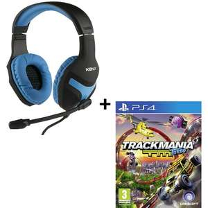 Pack casque audio Gaming Konix (avec micro) + Trackmania Turbo sur PS4 ou Xbox One
