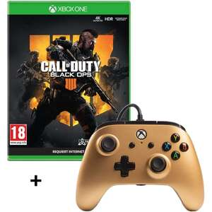 Manette Filaire PowerA pour Xbox One + Call of Duty: Black Ops 4 sur Xbox One