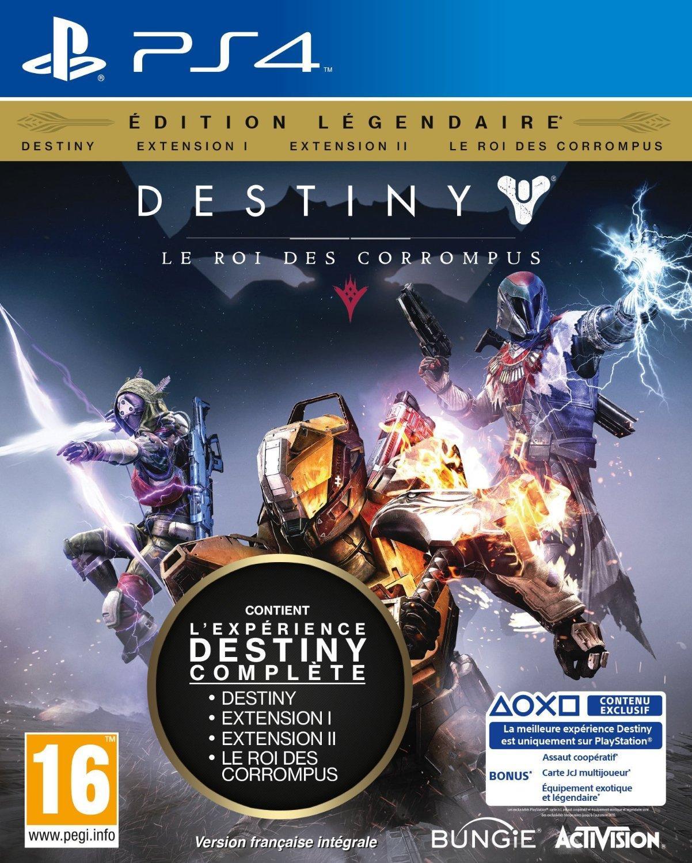 Jeu Destiny sur PS4 - Edition légendaire + 8€ de bon d'achat