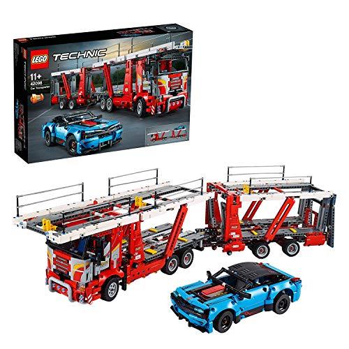 Jeu de Construction Lego Technic 42098 - Le transporteur de voitures