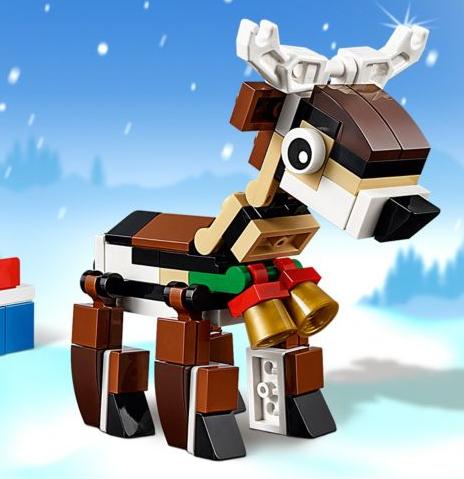 1 Renne Lego Creator Offert dès 35€ d'achat sur tout le site