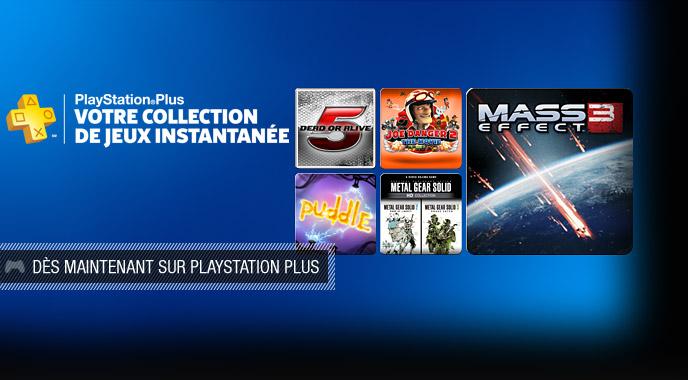Sélection de jeux PS3 en solde,