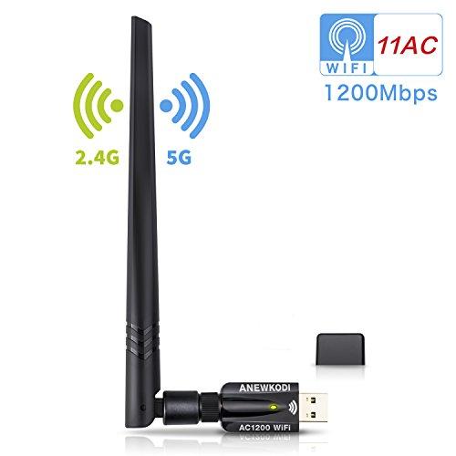 Adapateur USB > antenne Wi-Fi Anewkodi - 2.4 / 5.8 GHz (vendeur tiers)