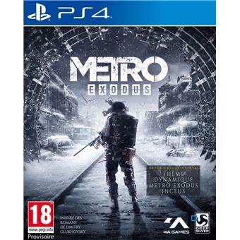 Jeu Metro Exodus sur PS4 - Edition Day One