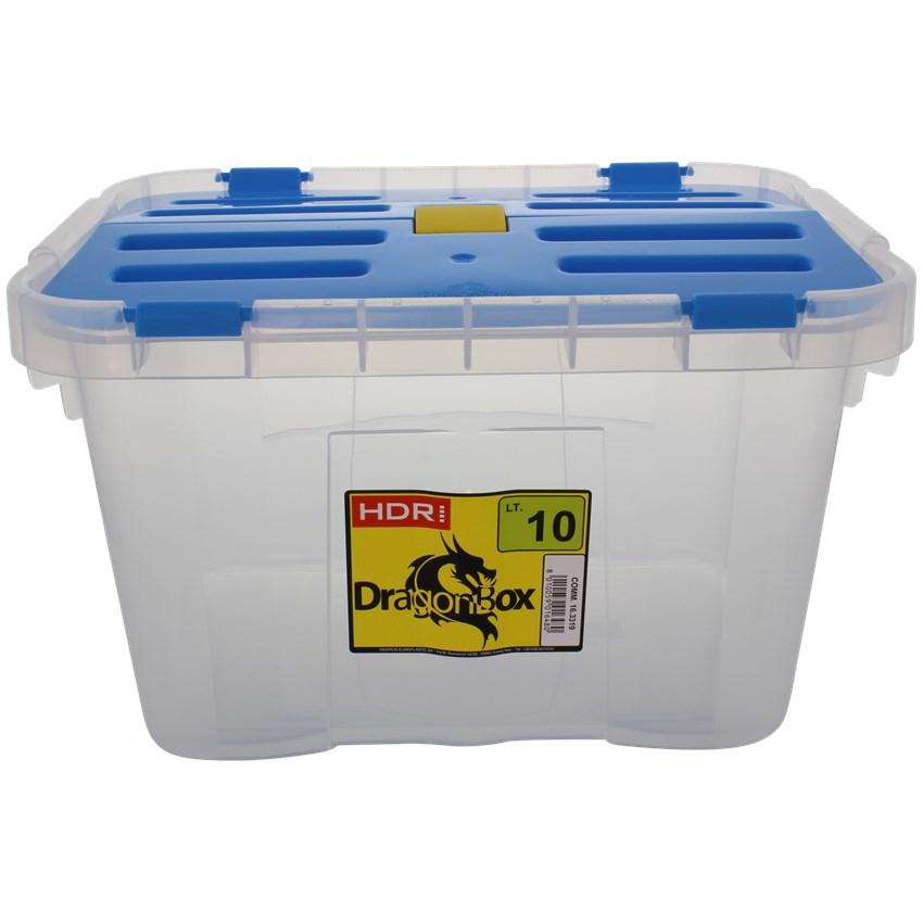 Boîte de rangement Heidrun - 10L, coloris au choix (24L à 2.62€)