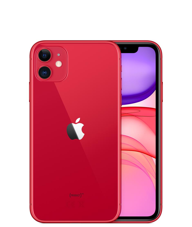"Smartphone 6.1"" Apple iPhone 11 - 128 Go, Rouge"