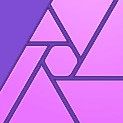 Application Affinity Photo sur iOS