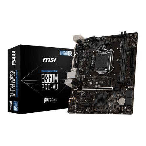 Carte mère MSI B360M PRO-VD - Socket 1151