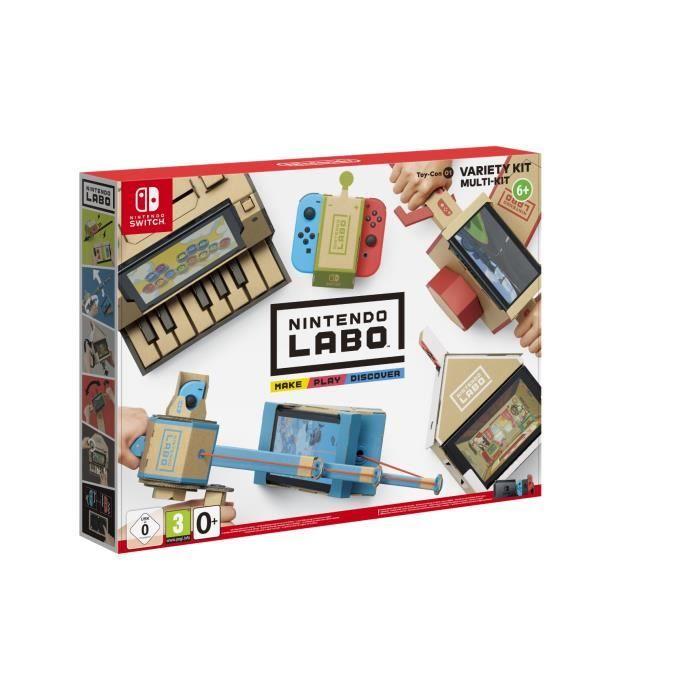 Kit Nintendo Labo pour Consoles Nintendo Switch (Vendeur Tiers)