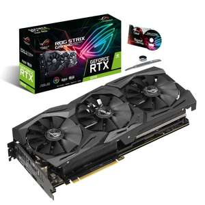 Carte graphique Asus GeForce RTX 2070 ROG Strix A8G Gaming - 8 Go + Call of Duty: Modern Warfare