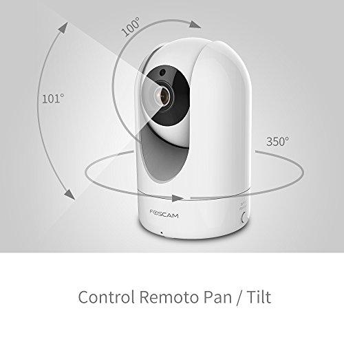 Caméra intérieure motorisée IP Foscam R2 - Wifi, HD 2 Mp, infrarouge 8m