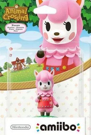 Nintendo Amiibo Risette - Animal Crossing series