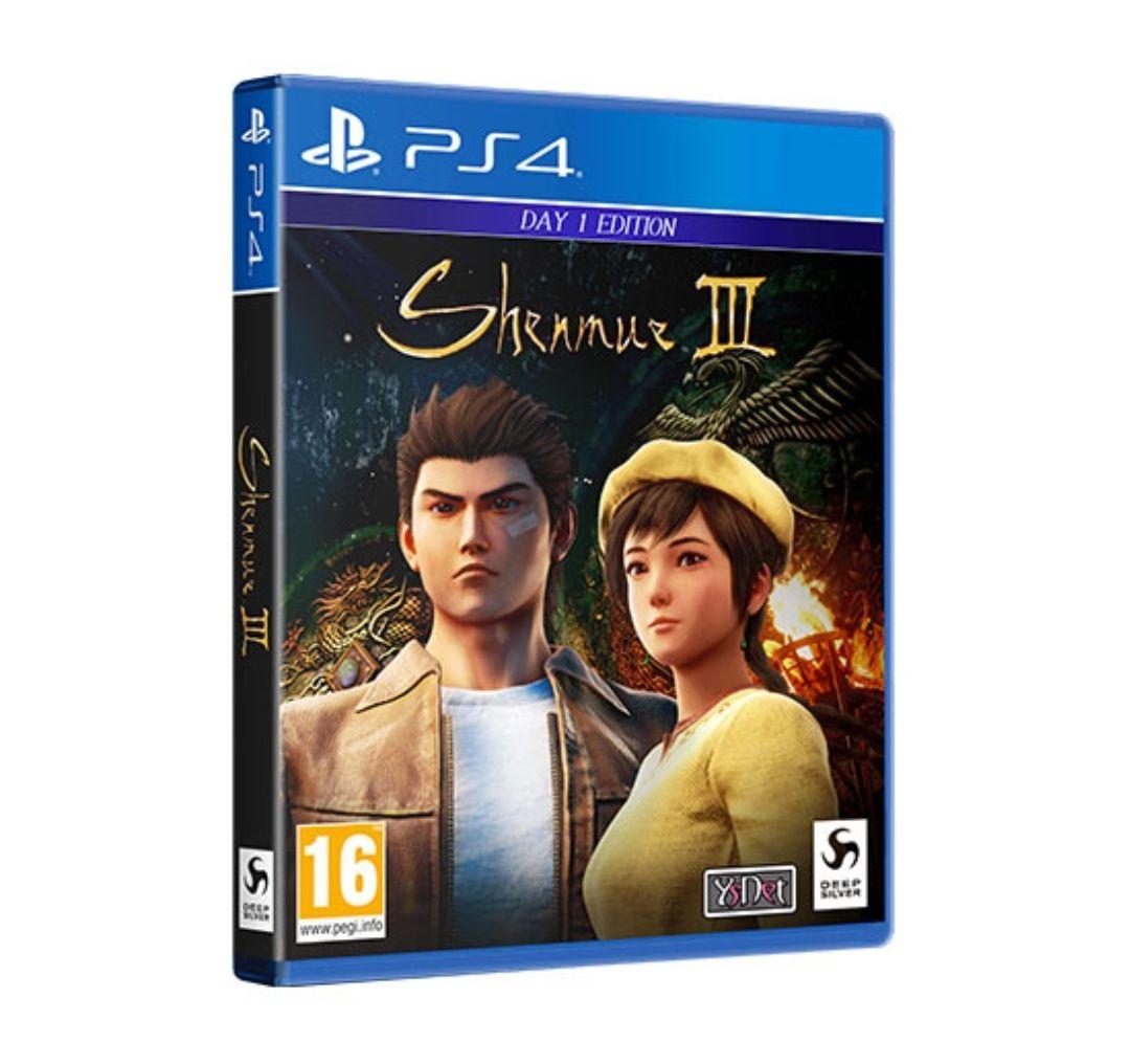 [Précommande] Shenmue III sur PS4 (+5€ en Bon d'achat)