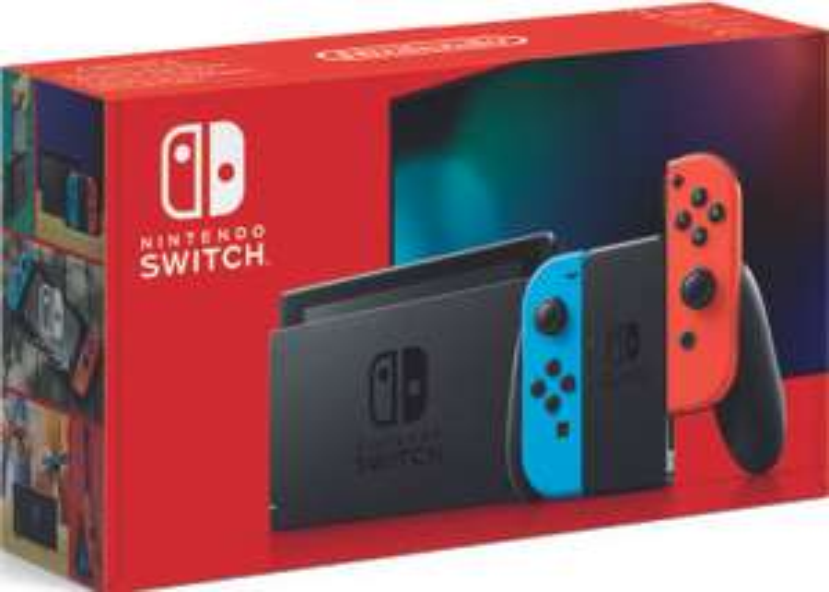 Console Nintendo Switch 2019 avec paire de Joy-Con Bleu/rouge ou Gris (via 50 € en bon d'achat) - Roques sur Garonne (31)