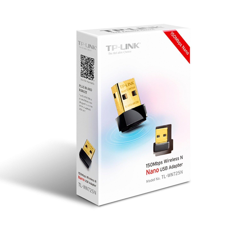 TP-Link TL-WN725N Nano adaptateur USB sans fil WiFi N 150 Mbps