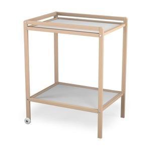 Table à langer AT4 Brut - 1 étagère