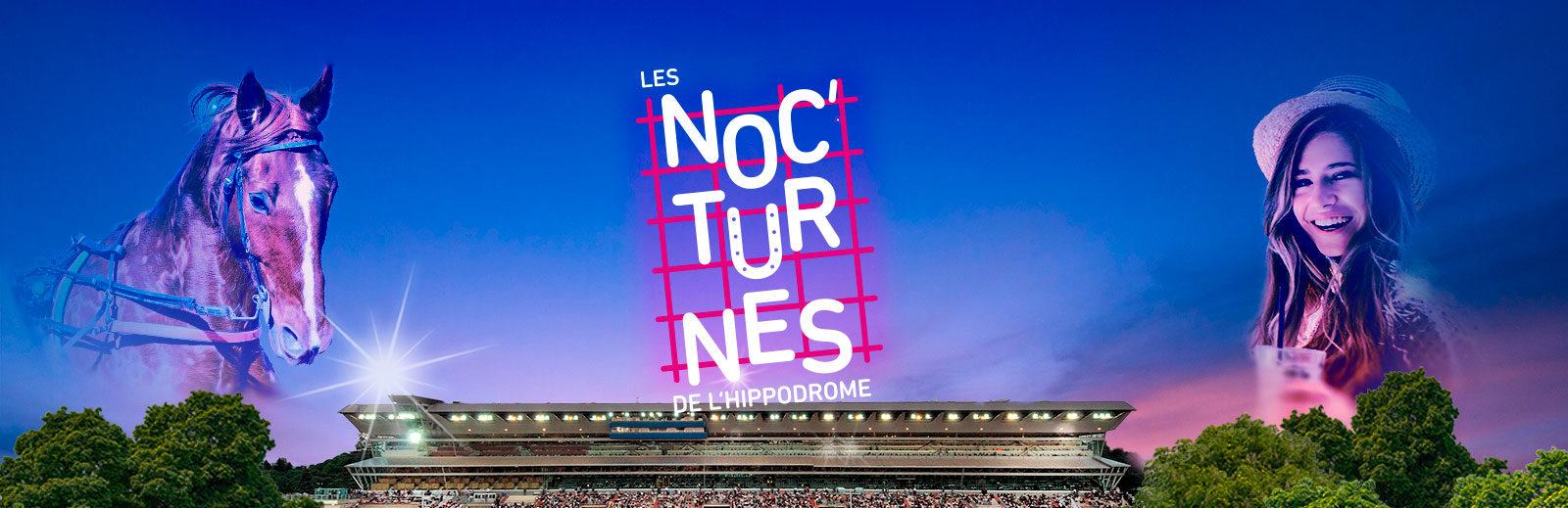 Lot de 2 invitations gratuites pour les Noc'turnes de Vincennes à l'Hippodrome de Paris - Paris 12ème (75)