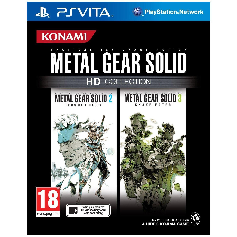 Metal Gear Solid HD Collection Vita Gratuit (PSN+), 9,99€ pour non abonnés