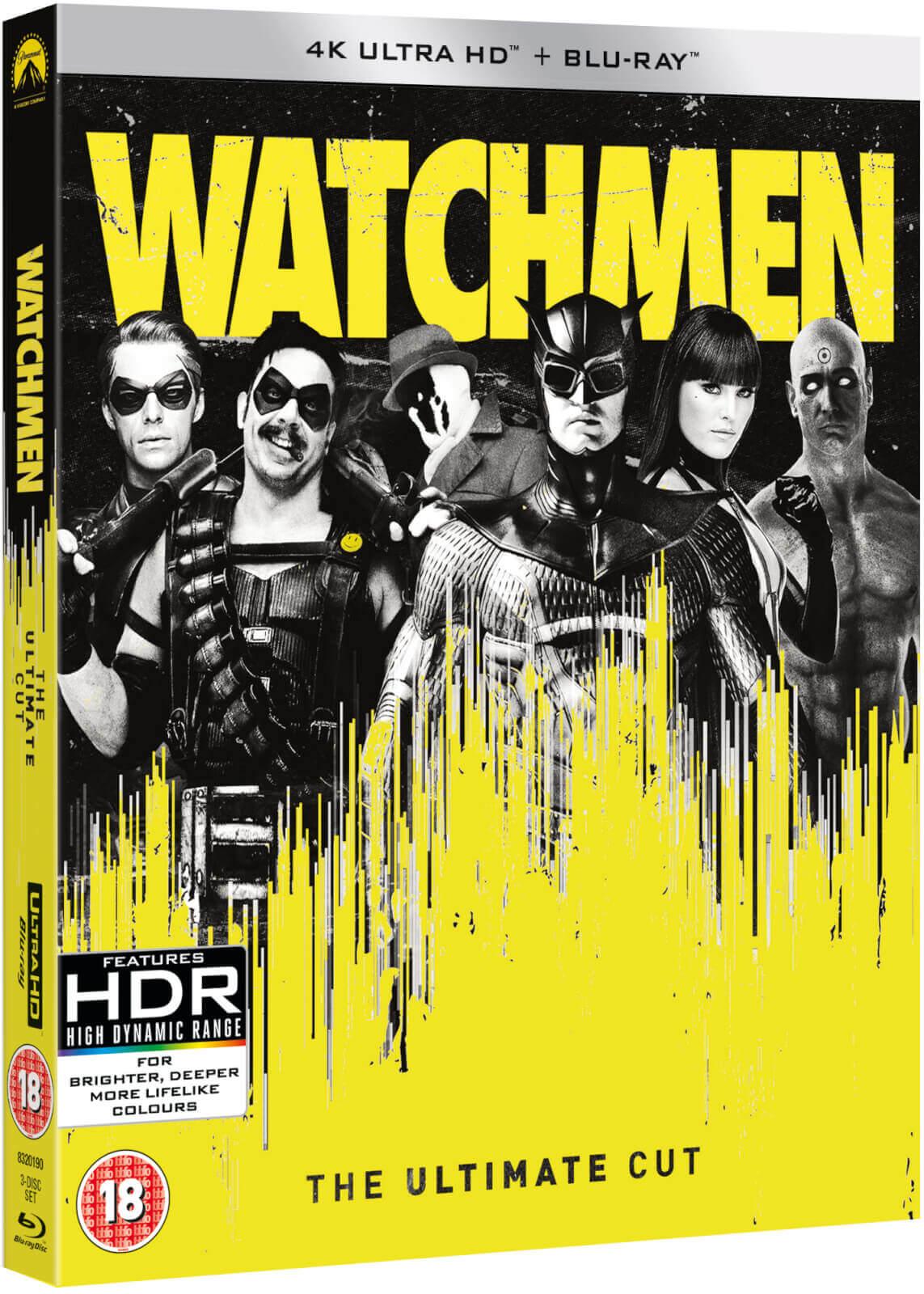 [Précommande] Coffret Blu-ray 4K UHD + Blu-ray Watchmen - Ultimate Cut Edition