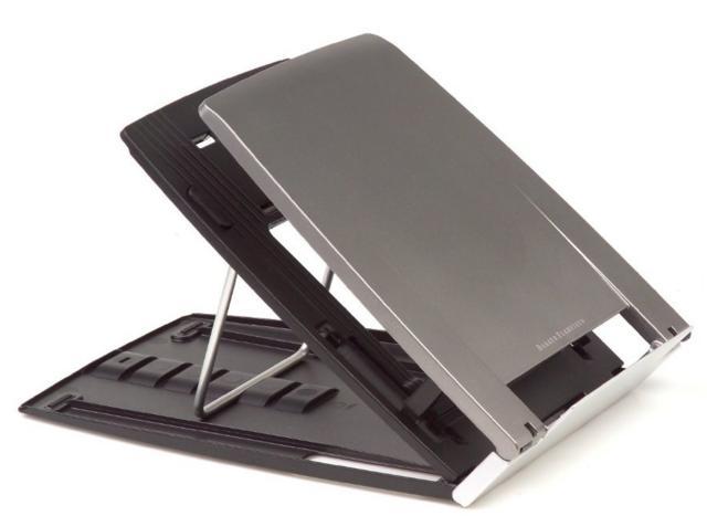 """Support pour Ordinateur portable BakkerElkhuizen Ergo-Q 330 jusqu'à 17"""" coloris gris"""