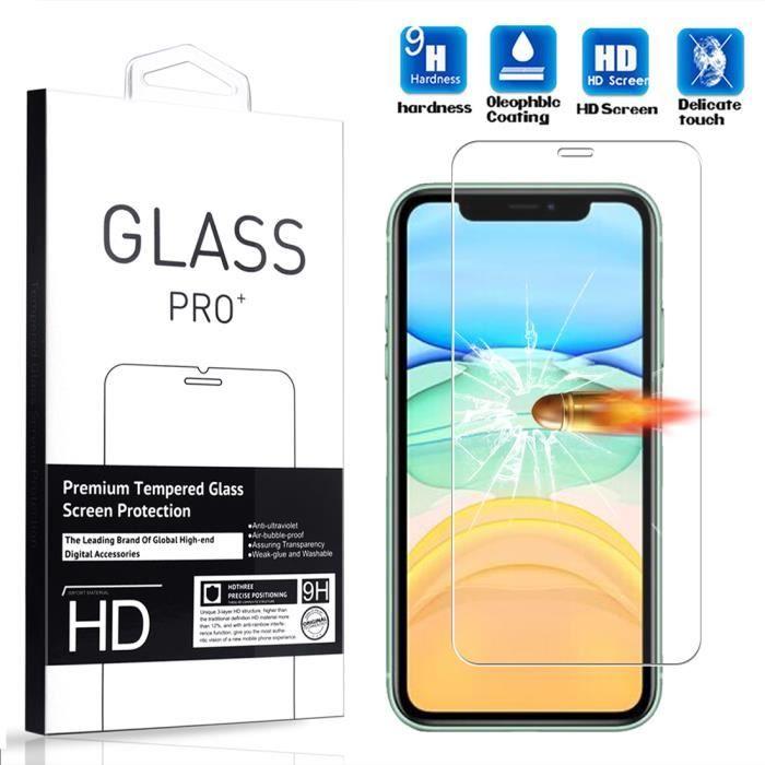 Film de Protection d'écran Verre Trempé pour iPhone 11 (Vendeur tiers)
