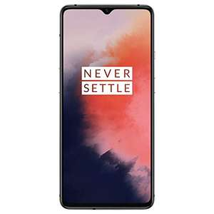 """Smartphone 6.55"""" OnePlus 7T - full HD+, SnapDragon 855+, 8 Go de RAM, 128 Go, 4G (B20/B28), Frosted Silver"""