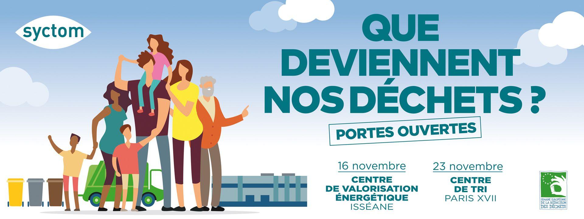Visite gratuite du centre de valorisation énergétique Isséane (92130) et du centre de tri à Paris XVII (75017)