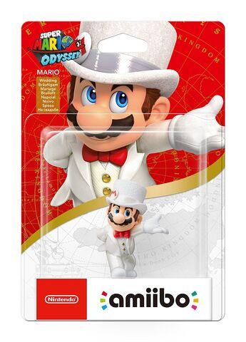 Figurine Amiibo Collection Super Mario - Mario Tenue De Mariage (91, 93)