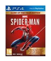 Jeu Marvel's Spider-Man - Game of the Year Edition sur PS4