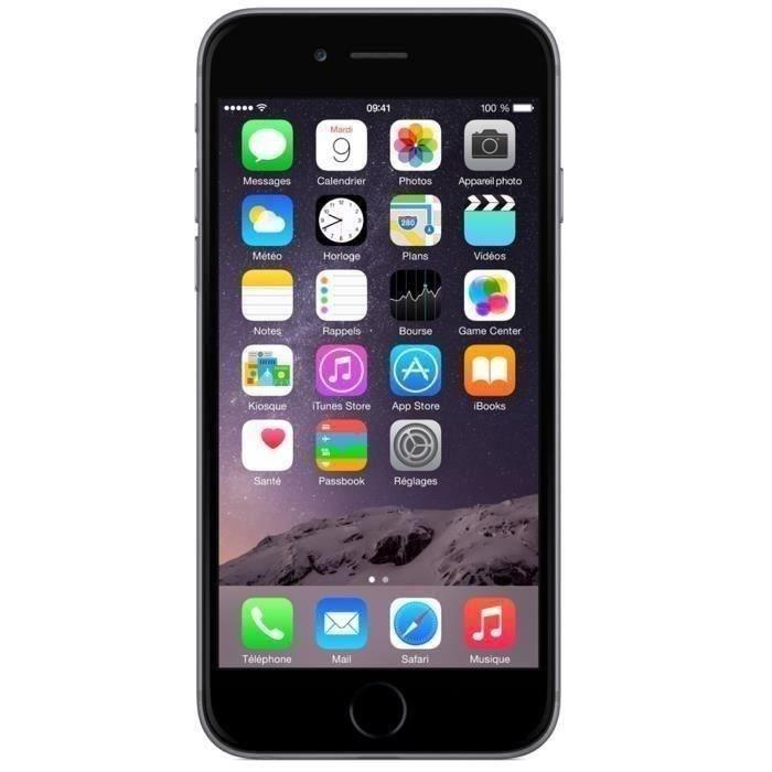 "Smartphone 4.7"" iPhone 6 - 64 Go Gris (Reconditionné - Garantie 1 an)"