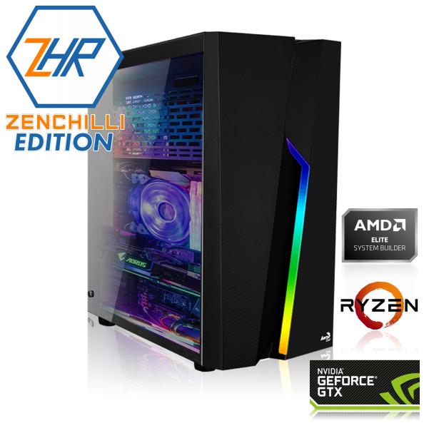 PC de Jeu Zenchili Edition - Ryzen 5 2600, 16 Go RAM, GTX 1660 Super, SSD 240 Go