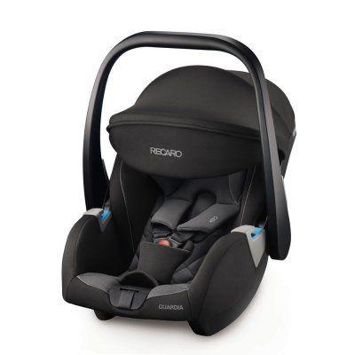 Siège Auto Recaro Guardia Carbon Black pour Bébés - Groupe 0 (Via ODR 50€)