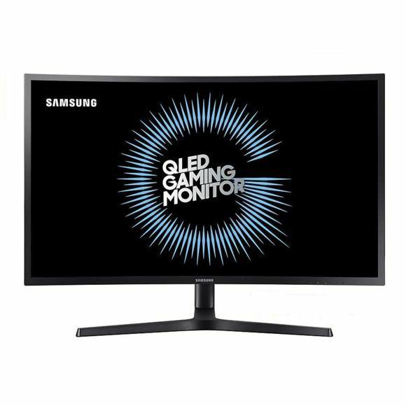 """Écran PC incurvé 27"""" Samsung C27HG70 - WQHD, LED VA, 144 Hz, 1 ms, FreeSync / G-Sync, Quantum Dot"""
