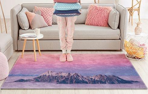 Photo imprimée sur tapis - 70x50cm