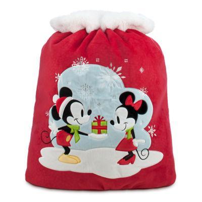 Jusqu'à 50% de réduction sur une sélection d'articles - Ex : Grande hotte de Noël Mickey et Minnie Mouse