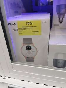 Montre Connectée Nokia Withings Steel HR, Blanche et or - Souilly (77)