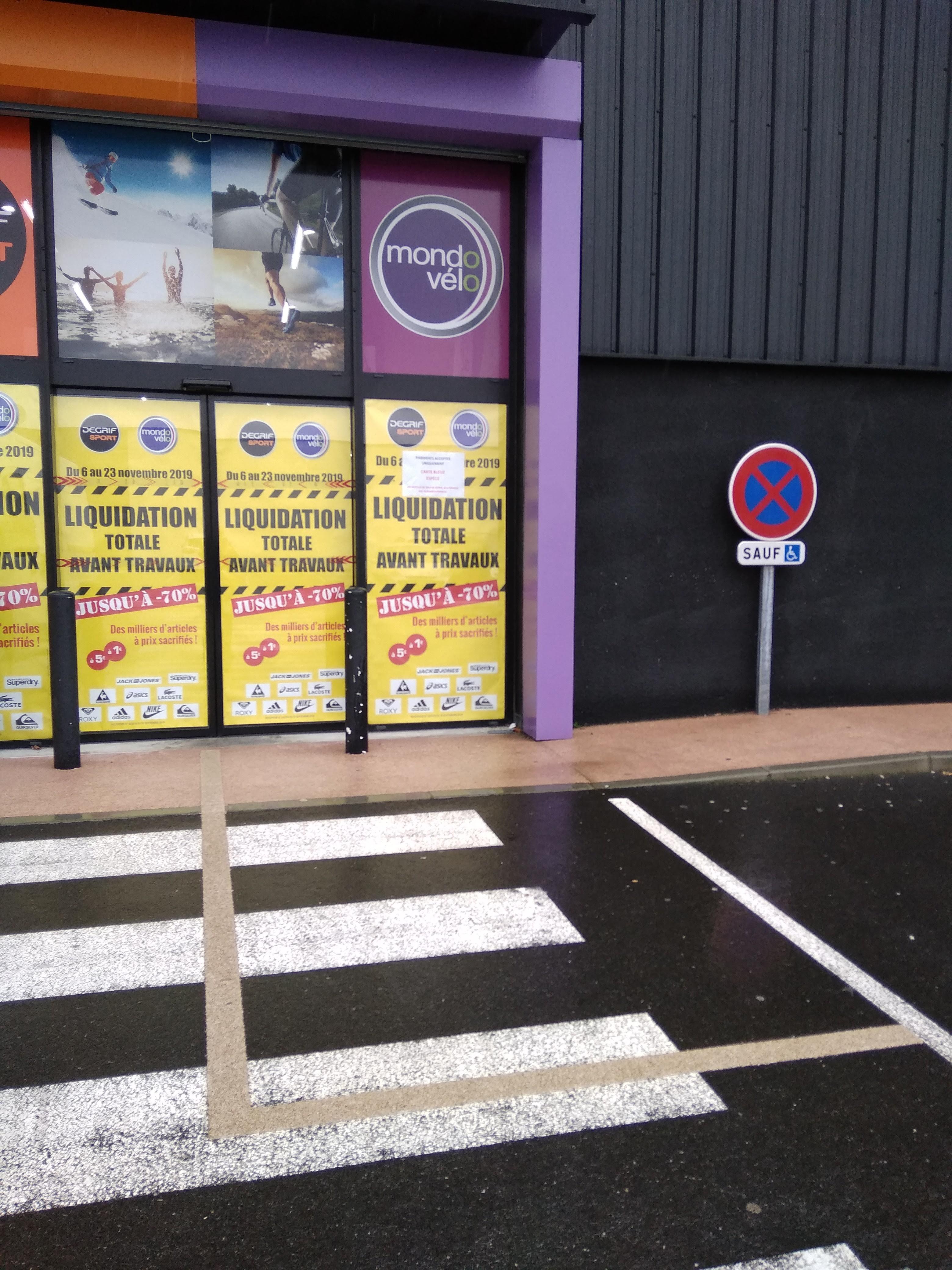 Jusqu'à 70% de réduction sur tout le magasin (liquidation totale avant travaux) - Degrif Sport MondoVelo Saint-Alban (31)