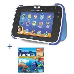 Tablette Enfant Storio Max XL + Jeu Dory (via ODR de 10€)