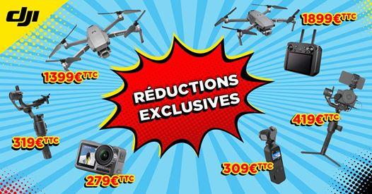 Sélection de produits en promotion - Ex : Osmo Pocket (Paris 75005)